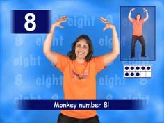 Eight song - Jumpin' Numbers & Shakin' Shapes