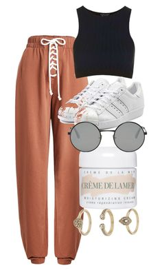 """Untitled #4705"" by olivia-mr ❤ liked on Polyvore featuring Puma, adidas Originals, La Mer, Yves Saint Laurent and Topshop"
