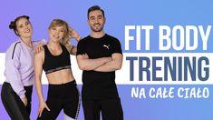 Fit Body 2 to trening wzmacniający, nastawiony na wzmocnienie mięśni, ujędrnienie sylwetki i poprawę ogólnej sprawności. Ćwiczenia nie są intensywne i nie zawierają wstawek cardio, za to idealnie się sprawdzą w pracy nad wzmocnieniem i rzeźbą całego ciała. Body, Cardio, Fit, Shape