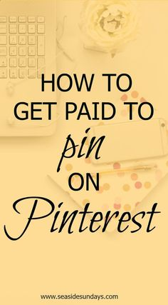Earn Money Online From Home - Make money with affiliate marketing | how to use affiliate links | what products to use for affiliates | using affiliate links on Pinterest You may have signed up to take paid surveys in the past and didn't make any money because you didn't know the correct way to get started!