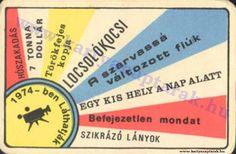 1974 - 1974_0573 - Régi magyar kártyanaptárak
