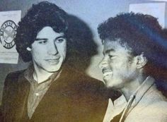 John Travolta and Michael Jackson at Studio 54 ~ August, 1977 Studio 54 New York, Nostalgia, Disco Night, Jackson Family, The Jacksons, John Travolta, Motown, Retro, Michael Jackson