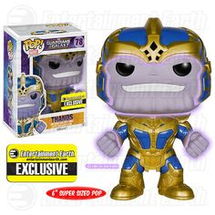 Pop! Marvel #78 - Thanos. Glow Edition.  (Abril 2015)  http://www.entertainmentearth.com/prodinfo.asp?number=FU5739R&id=AU-503199267