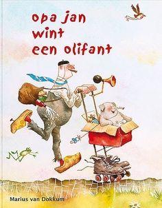 opa Jan wint een olifant - Marius van Dokkum - kinderboek
