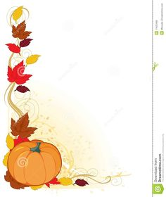 free autumn clipart backgrounds | Fall Harvest Clip Art ...