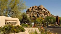 The 33,000 sq. foot Spa at The Boulders Resort, is serene and spacious. Spa services include facials, wraps, massages, aromatherapy and acupuncture, in the picturesque, desert mountain setting of Carefree, AZ.