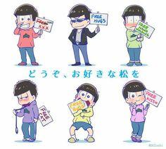 Image in Osomatsu-San/Kun collection by Ritsu Haruno All Anime, Manga Anime, Anime Art, Chibi, Sans Art, Gekkan Shoujo Nozaki Kun, Laughing And Crying, Ichimatsu, Cool Sketches