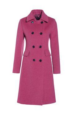 Pink wool coat   Weekend MaxMara