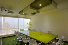 References - Offices - EMS - Conrad Tower, Media City Dubai, 2014   Sitland Spa Php, Offices, Dubai, Conference Room, Tower, City, Table, Furniture, Home Decor