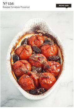 Roasted Tomatoes Provencal  {recipe}