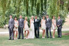Bridal Party at Lake Hayes, Queenstown