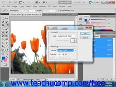 Learn how to apply fills in Adobe Photoshop at www.teachUcomp.com. A clip from Mastering Photoshop Made Easy v. CS5. http://www.teachucomp.com/free - the most comprehensive Photoshop tutorial available. Visit us today!