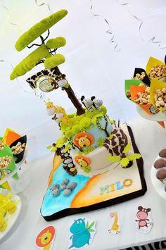 Torta realizada por Eva Benavente Cakes Design