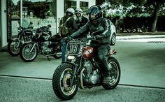 Amazing chunky Honda XR Custom via Elegant-Apparatus #motorcycles #motos | caferacerpasion.com