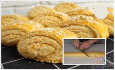 Tímto křehkým koláčkům se zakysanou smetanou a ořechy nikdo neodolá. Vynikající recept, který si oblíbíte. Chutnají tak skvěle, že i dvojnásobná dávka bude málo. Autor: Triniti Thing 1, Pancakes, Food And Drink, Bread, Breakfast, Easter, Basket, Morning Coffee, Pancake