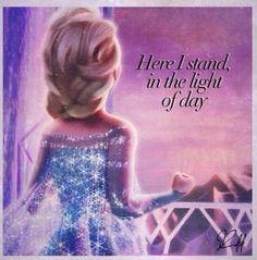 Elsa, Frozen.