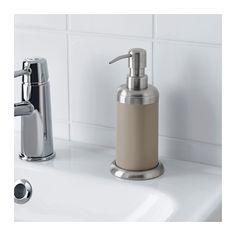 mjsa soap dispenser light brown ikea
