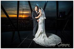 The Gherkin Wedding Photos