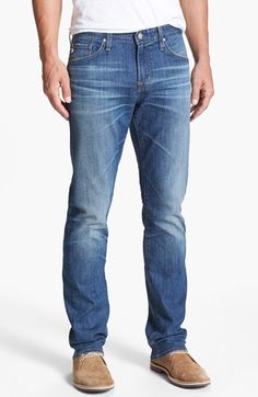 13a377333ad27 AG  Graduate  Tailored Fit Straight Leg Jeans (13 Year Origin)