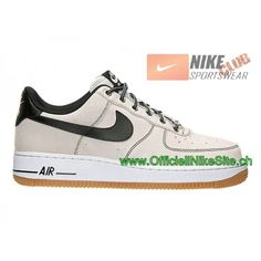 Nike Air Force 1 Low Chaussures Nike Pas Cher Pour Pour Homme Noir Brun  488298-068,Nike Air Force 1,Nike Air Force 1 Low,Nike Air Force 1 Pas Cher,Officiel  ... 80ae2120646b
