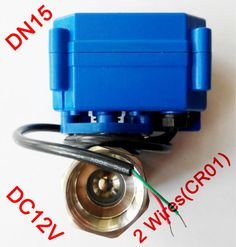 """21.88$  Buy here - http://alidog.shopchina.info/go.php?t=1941217749 - """"1/2"""""""" Mini electric actuator valve 2 wires(CR01), DC12V motorized ball valve SS304, DN15 electric valve for water control""""  #aliexpresschina"""