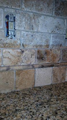 travertine subway tile backsplash re show me your