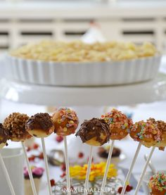 Apfeltorte und Cake Pops