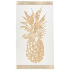 Exclusively Ours Pineapple Beach Towel (€31) ❤ liked on Polyvore featuring home, bed & bath, bath, beach towels and filler