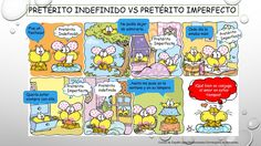 Pretérito indefinido vs Pretérito imperfecto