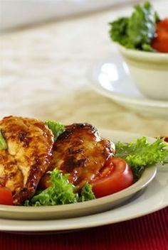 maple chili grilled chicken breast
