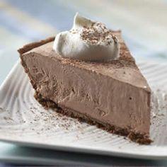 Frozen Lite Chocolate Cheesecake Pie Allrecipes.com