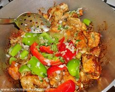 locrio de pollo - Dominican food