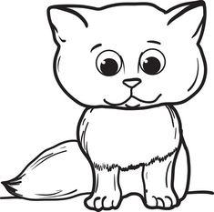Pinterest Teki En Iyi 28 Cat Coloring Pages Goruntuleri Cat