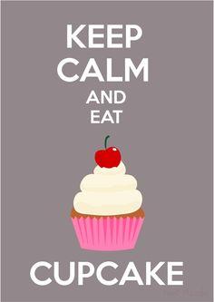 pastel, cupcake, keep calm, printables @ Nani Pizzolo www.facebook.com/nanipizzoloilustradora.com