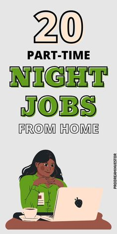 These part-time night jobs from home will help you earn some extra money from the comfort of your home. Legit evening jobs that pay well. #workfromhome #makemoneyonline #businessideas #sidehustles Online Income, Online Jobs, Midlife Career Change, Make Money Online, How To Make Money, Night Jobs, Part Time, Work From Home Moms, Home Based Business