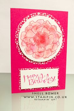 Shell Bower Stampin' Up! Blended Bloom