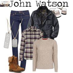 """John Watson - Sherlock"" by marybethschultz on Polyvore"