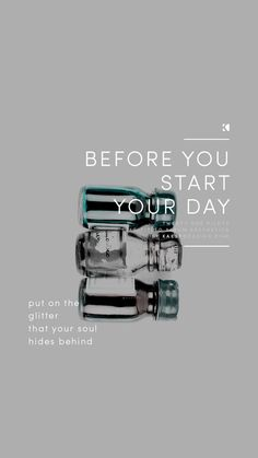 Before You Start Your Day Lockscreen by KAESPO Design