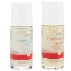 Dr. Hauschka Natural Deodorant - It's third party-certified (by BDIH), the Floral variety smells particularly great and the Fresh works well on men. The ingredients are as pure as it gets, and it's amazingly effective compared to other so-called natural sticks and roll-ons (thanks to, they say, odor-reducing zinc ricinoleate).