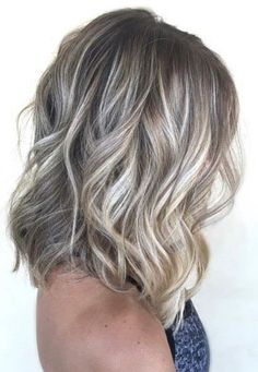 10 Ways to Wear Ash Blonde Balayage Long Bob Hairstyles Ash Blonde Balayage Long Bob Extra Long Bob: Why you need to cut your hair right now Asymmetrical bob has been one of the most popular haircuts ever s. Long Bob Balayage, Platinum Blonde Balayage, Balayage Hair, Ash Blonde Bob, Brassy Blonde, Babylights Blonde, Natural Ash Blonde, Baylage, Long Bob Haircuts