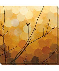 Sean Jacobs 'Autumn Shade I' Canvas Art