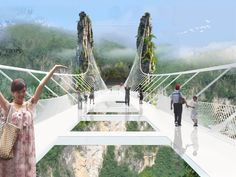 Awesome architecture: Meet the world's freakiest all-glass bridge.