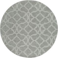 Metro AWMP-4031 Light Gray Contemporary Premium Wool Rug