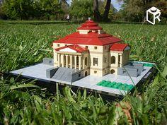 Villa La Rotonda - real brick model / igazi kockákból   Flickr