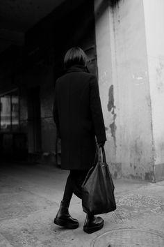 Dark fashion. Black.
