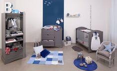 Ambiance contemporaine pour la chambre de bébé | Turquoise, Gris et ...