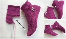 Half Socks, Sexy Dresses, Knitting Patterns, Crochet Patterns, Ombre Effect, Free Crochet, Bootie Boots, Gloves, Slippers