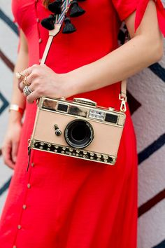 Kate Spade Spice Thinks Up Camera Bag