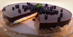 Zdravé Torty: Rýchla čučoriedková torta