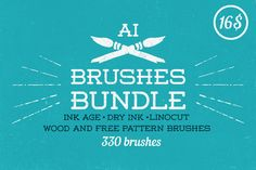 Brushes Bundle by Guerillacraft by Guerillacraft on Creative Market